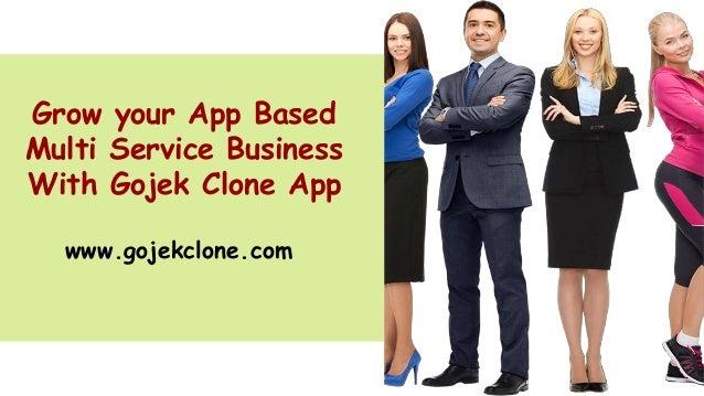 Grow your App Based Multi Service Business With Gojek Clone App www.gojekclone.com