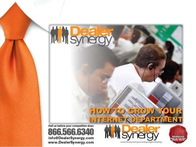 Sean V. Bradley•   Founder & CEO,•   Dealer Synergy•   (866) 432-3555•   seanb@dealersynergy.com