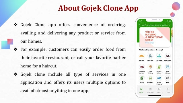 Grow your multi service business with gojek clone Slide 2
