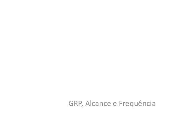 GRP, Alcance e Frequência