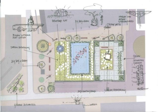Gele Rijdersplein kleurt Groen / Green liberation Park