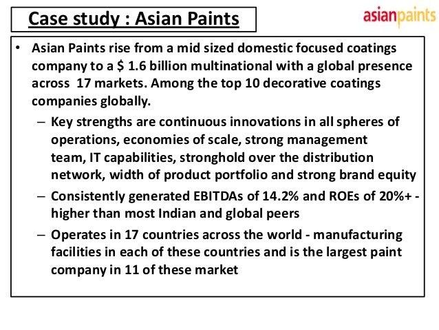 Asian Paints Case Study - Aspect Software