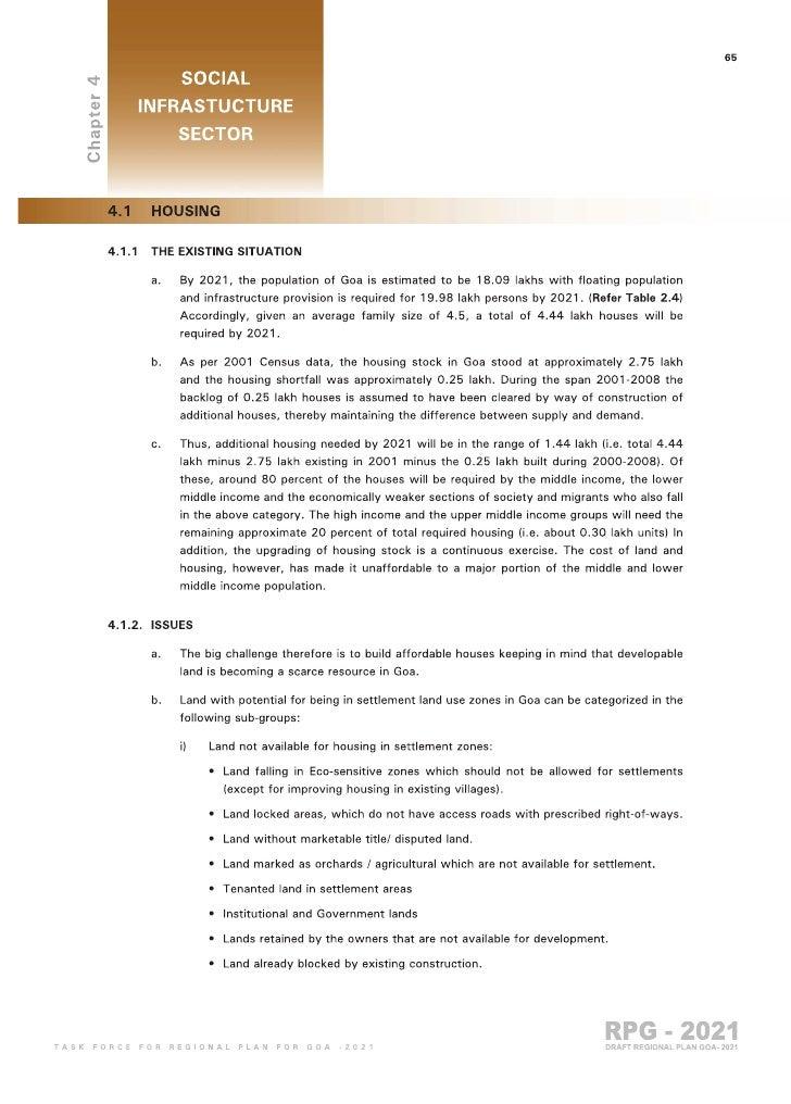 Goa Regional Plan 2021 part 4