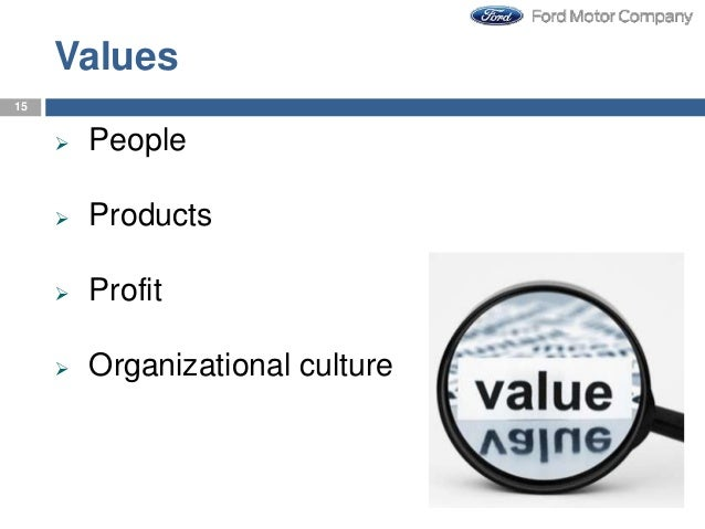 Strategy management of ford motor company for Ford motor company leadership