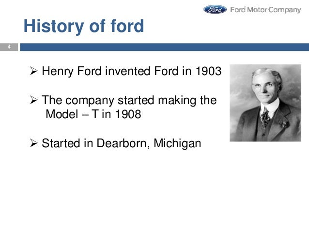 history of ford henry ford invented ford in 1903 the. Cars Review. Best American Auto & Cars Review
