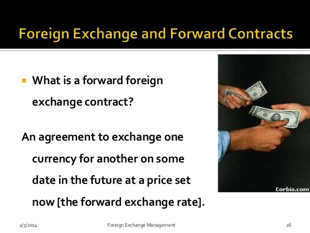 Forex contracts