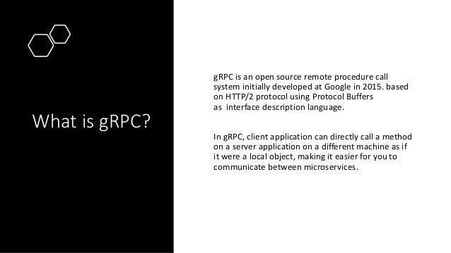 gRPC - Fastest Data Transfer Protocol Slide 2