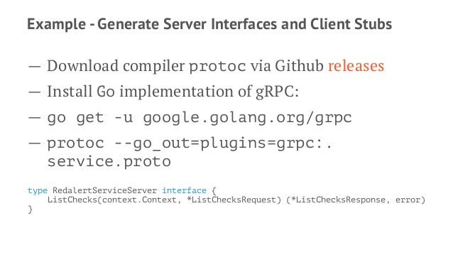 gRPC and Microservices