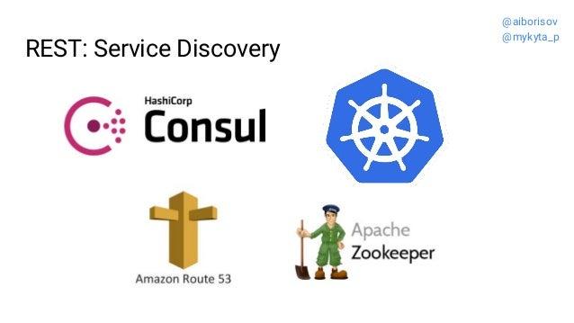 REST: Service Discovery @aiborisov @mykyta_p