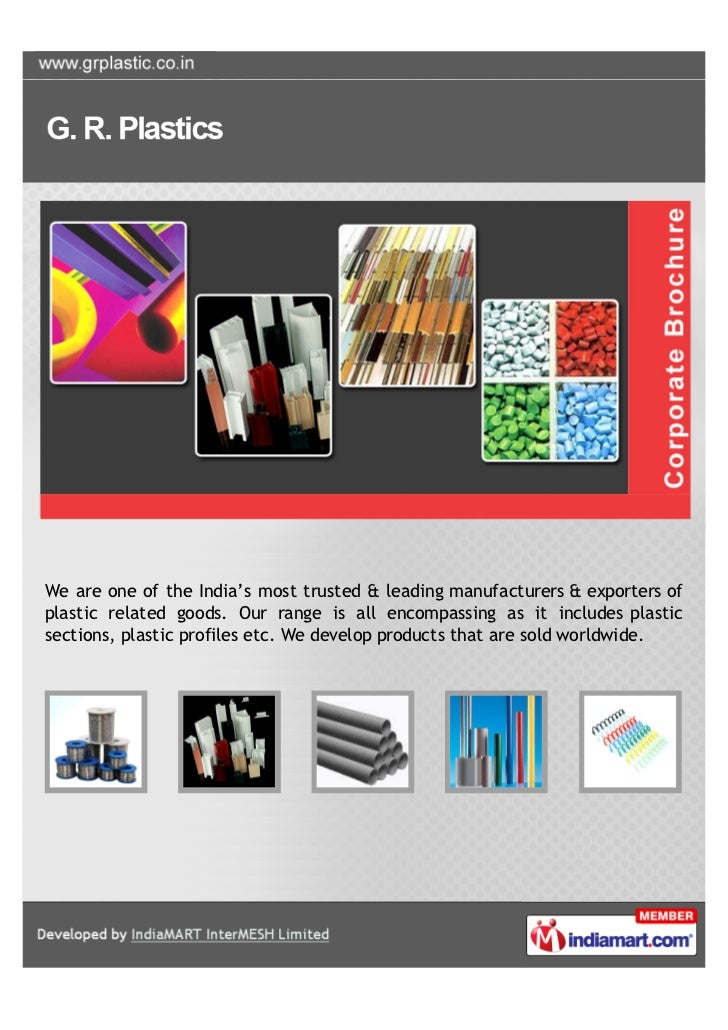 We are one of the India's most trusted & leading manufacturers & exporters ofplastic related goods. Our range is all encom...