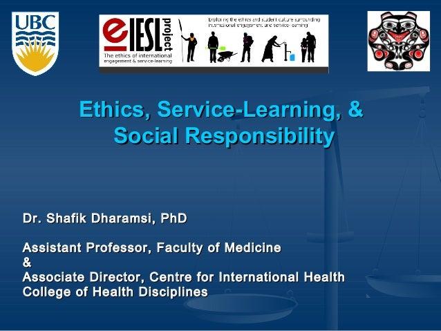 Dr. Shafik Dharamsi, PhDDr. Shafik Dharamsi, PhD Assistant Professor, Faculty of MedicineAssistant Professor, Faculty of M...