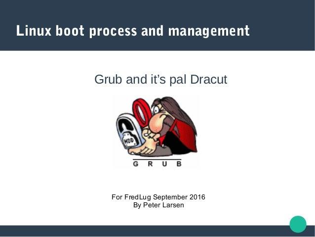 Grub and dracut ii