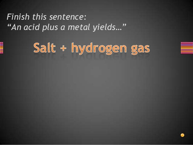 acid base yields salt water is an example of a