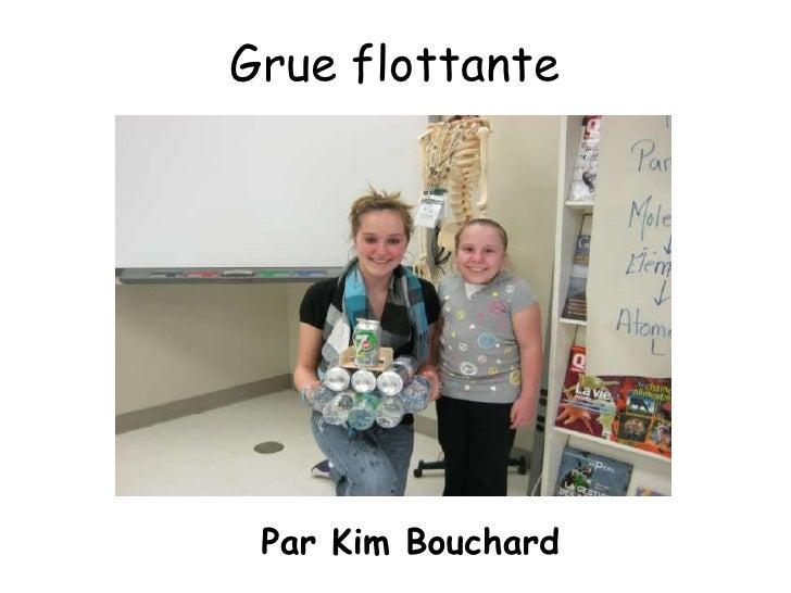 Grue flottante Par Kim Bouchard