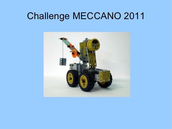 Challenge MECCANO 2011