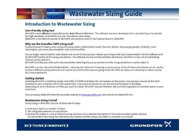 Grundfos Guide Wastewater Sizing