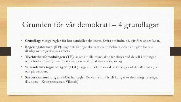 svenska grundlagar