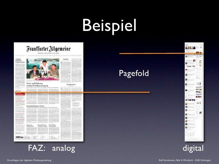 Beispiel                                                   Pagefold                        FAZ: analog                    ...