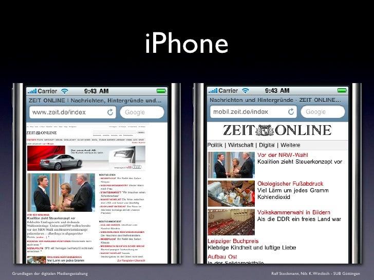 iPhone     Grundlagen der digitalen Mediengestaltung            Ralf Stockmann, Nils K. Windisch - SUB Göttingen