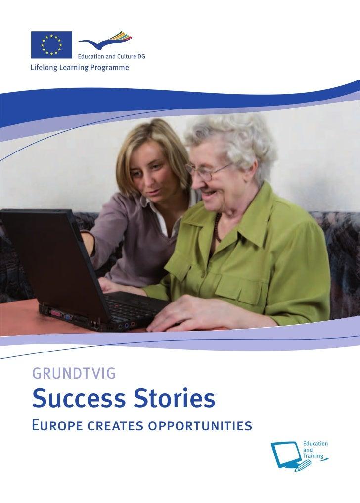GRUNDTVIGSuccess StoriesEurope creates opportunities