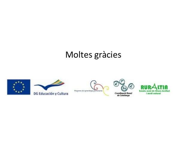 Presentació CRUC III Jornades Europees 2013