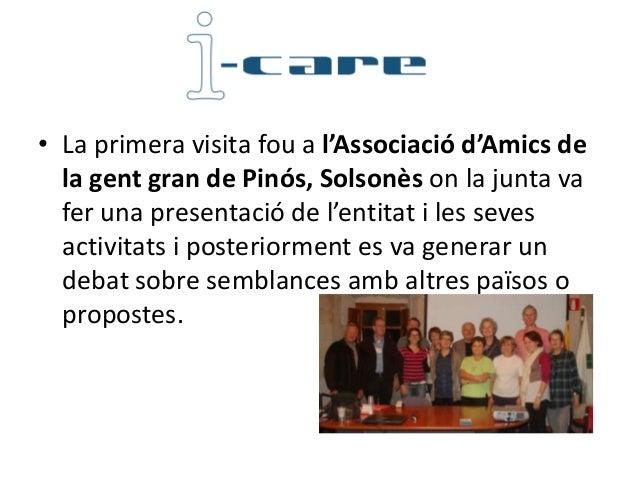 • La segona visita fou a l'Associació Peramola etCrida de l'Alt Urgell, que la seva presidenta vapresentar i va fer una vi...