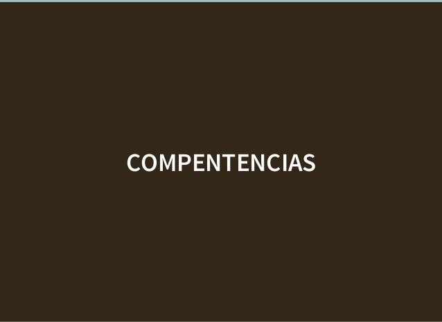 COMPENTENCIAS