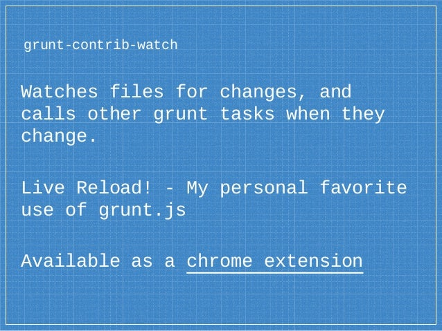 how to use grunt js