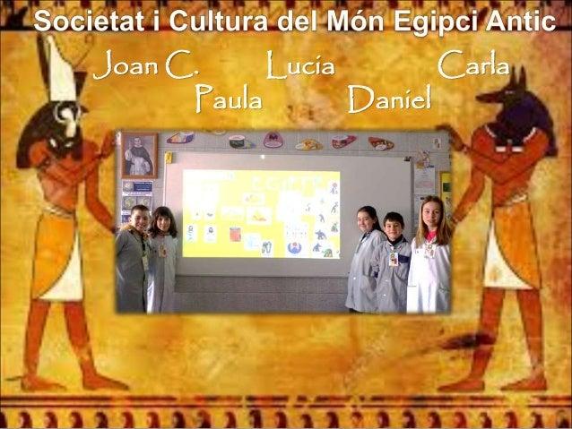 Joan C. Lucia Carla Paula Daniel