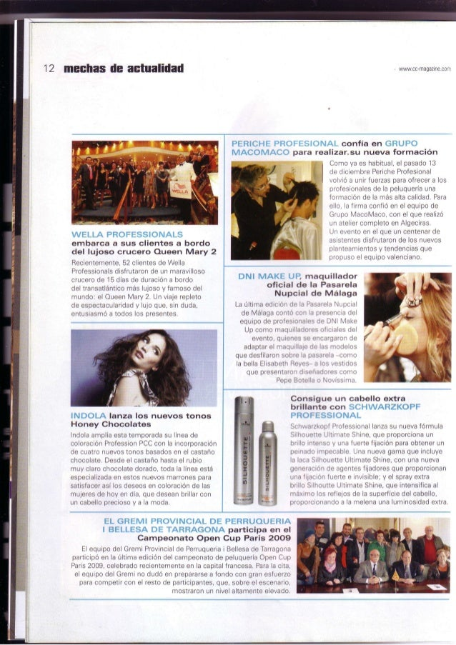 Grupo macomaco - artículos - revista c&c magazine nº116 ''periche profesional confia en grupo macomaco''