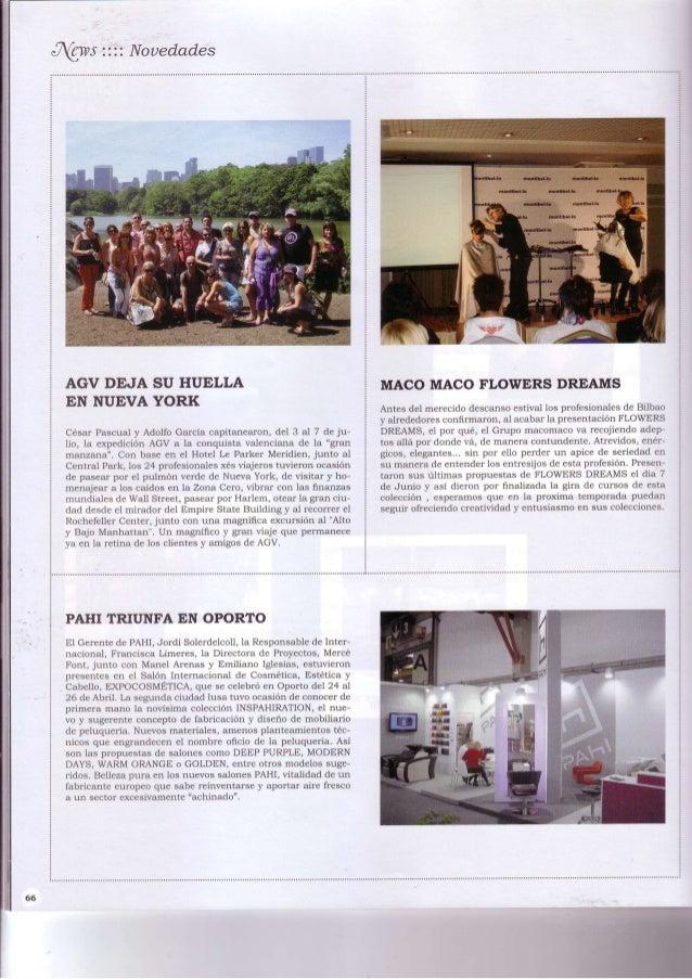 Grupo macomaco - artículos - revista fusion nº27 2010 ''macomaco flowers dreams''
