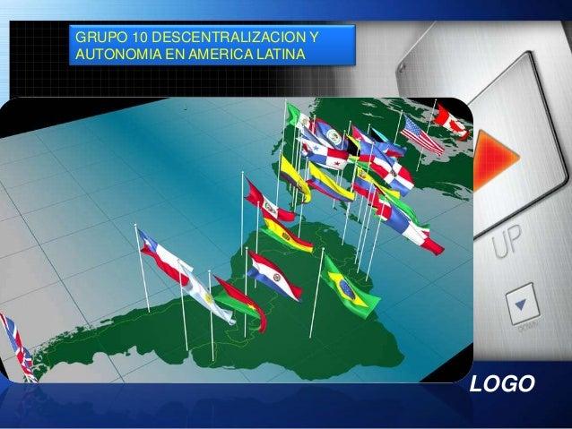LOGO GRUPO 10 DESCENTRALIZACION Y AUTONOMIA EN AMERICA LATINA