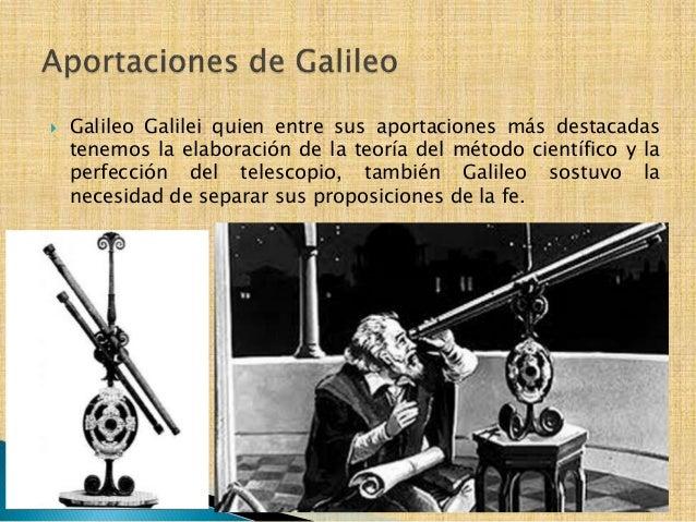 Resultado de imagen para Aportación de Galileo en la construcción de conocimiento científico