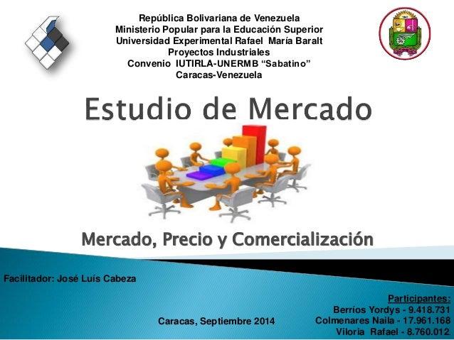República Bolivariana de Venezuela  Ministerio Popular para la Educación Superior  Universidad Experimental Rafael María B...