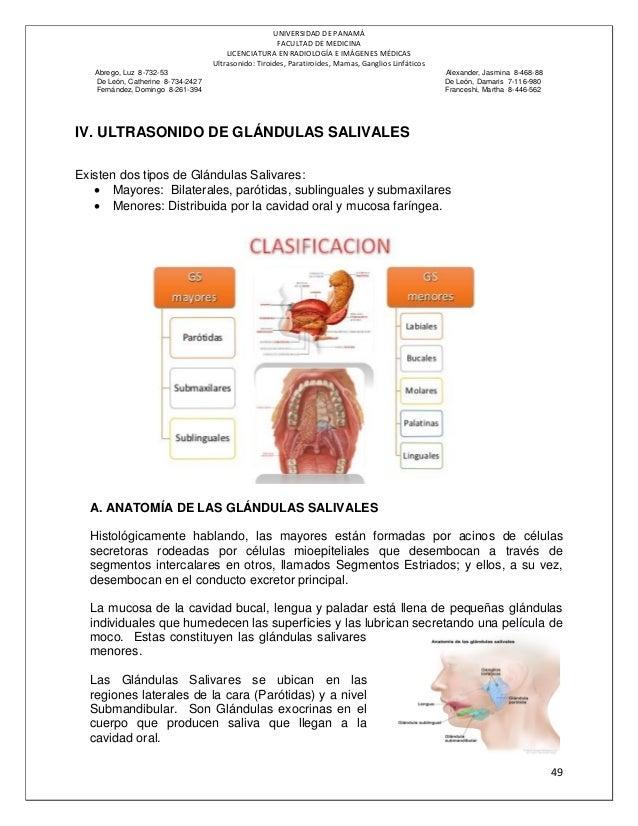 ULTRASONIDO DE TIROIDES-PARATIROIDES-MAMA-GLÁNDULAS SALIVALES-GANGLIO…