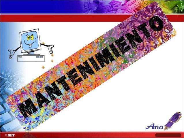 MANTENIMIENTO PREVENTIVO MEMORIA RAM • Cada que tenemos una memoria RAM procuremos no tener las manos húmedas o sudada ya ...