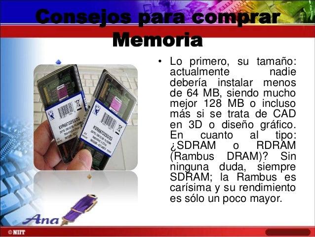 MEMORIAS Y PRECIOS  MEM.8MB 72PIN P/NOTEBOOK.4 CHIP'S Neto en US$12,83  MEM.DIMM 128MB DDR PC-2100 MICRON Neto en US$44,94...