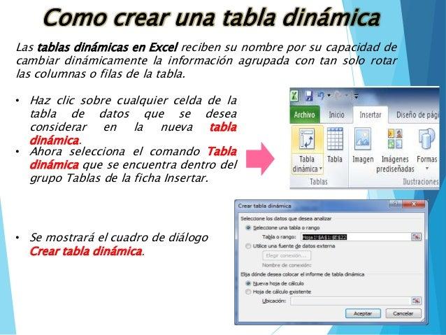 Tabla de datos • Excel Total
