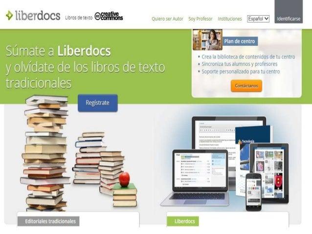 Crearse una cuenta para poder acceder a liberdocs y crear o editar tus libros virtuales