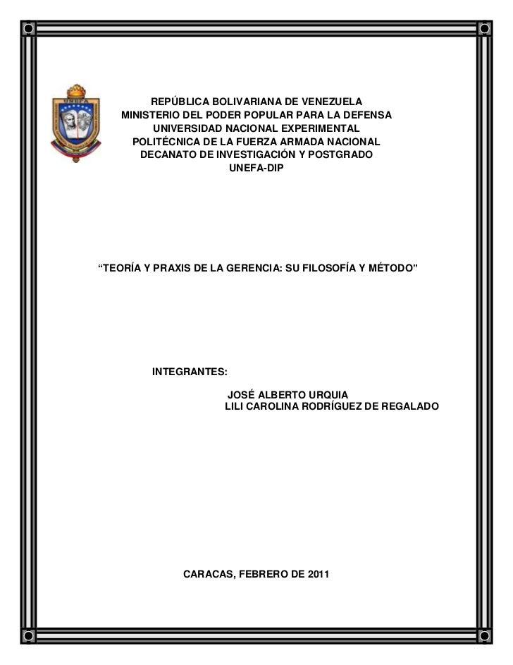 -316725-181395REPÚBLICA BOLIVARIANA DE VENEZUELA<br />MINISTERIO DEL PODER POPULAR PARA LA DEFENSA<br />UNIVERSIDAD NACION...