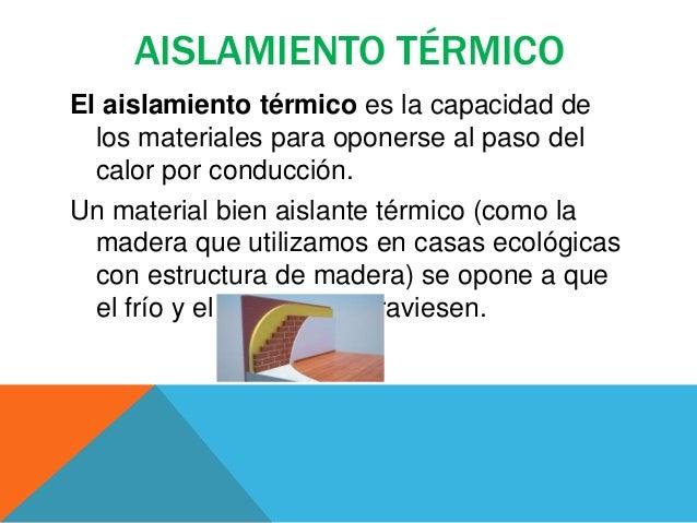 Materiales para aislamiento termico con los materiales - El mejor aislante termico ...