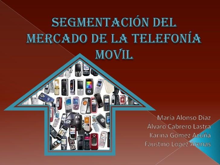 El mercado de la telefonía móvil es uno de los sectores fundamentales que está en plena   expansión y cambio debido a los ...