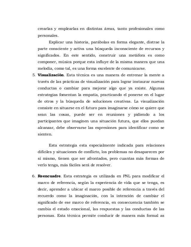 PROGRAMACIÓN NEUROLINGUISTICA PARA ALCANZAR EL EXITO
