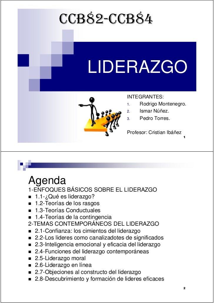 CCB82-CCB84                         LIDERAZGO                                       INTEGRANTES:                          ...