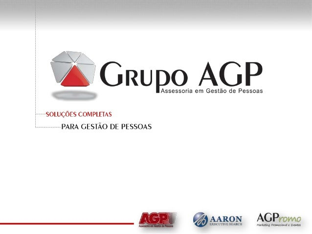 A Empresa Há mais de uma década prestando serviços no mercado de recursos humanos, o Grupo AGP vem construindo sua históri...