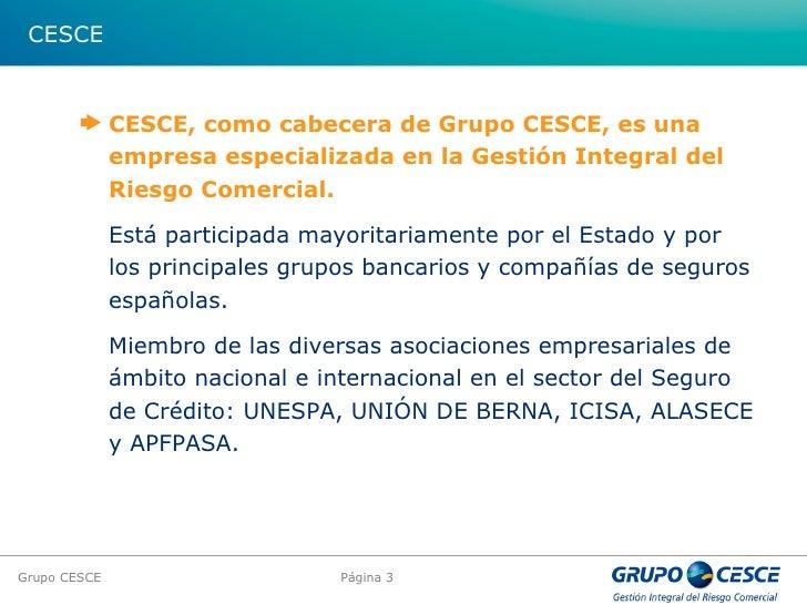 Grupo Cesce Presentacion
