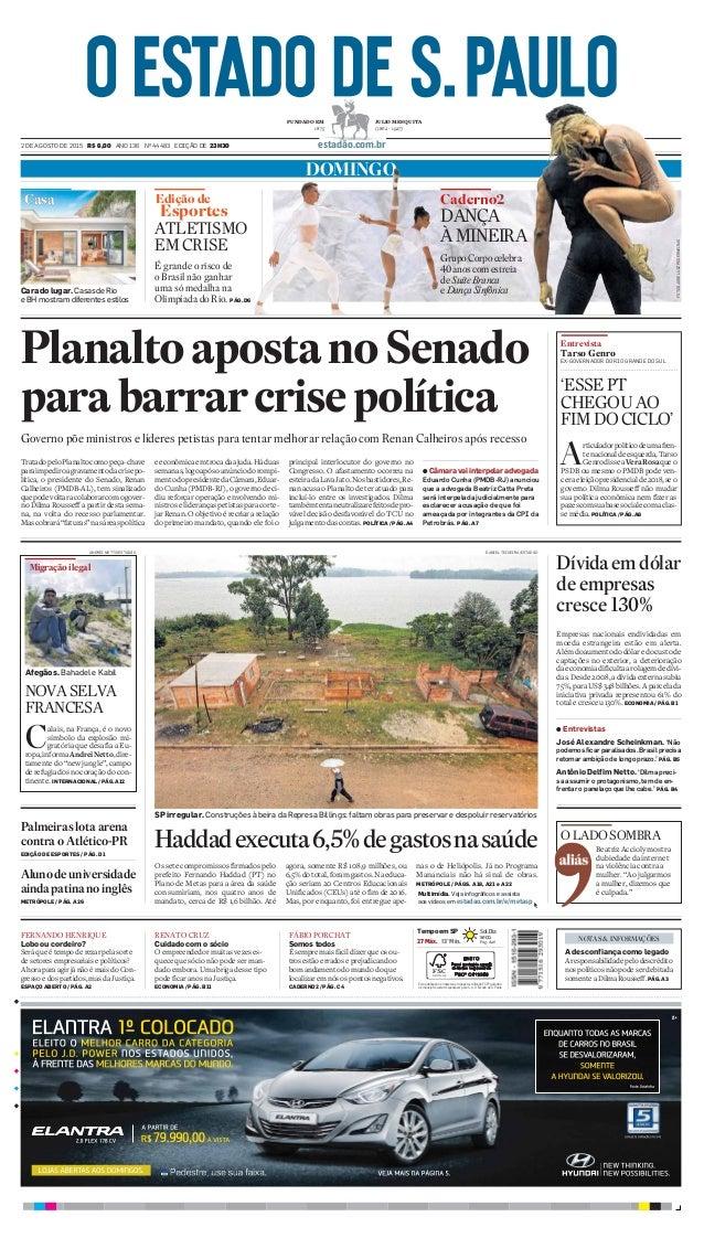 DOMINGO Caderno2Edição de Esportes ATLETISMO EM CRISE É grande o risco de o Brasil não ganhar uma só medalha na Olimpíada ...