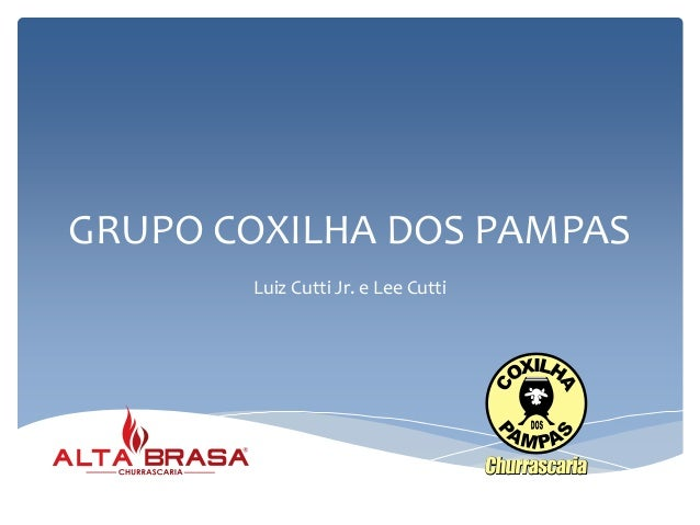 GRUPO COXILHA DOS PAMPAS Luiz Cutti Jr. e Lee Cutti