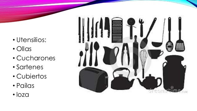 Equipos y utensilios de cocina for Utensilios de cocina casa joven