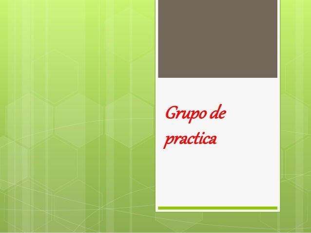 Grupo de practica
